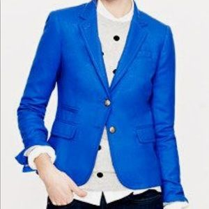 Blue J. Crew school boy blazer